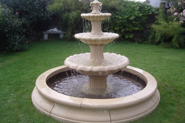 Sandstone Fountain Is An Amazing Stuff That Graces The Garden In Numerous  Designs And Styles. Sandstone Is Easy To Cut And Carve, Thus Some Unique  Patterns ...