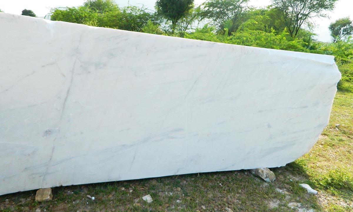 White Marble cutter slab